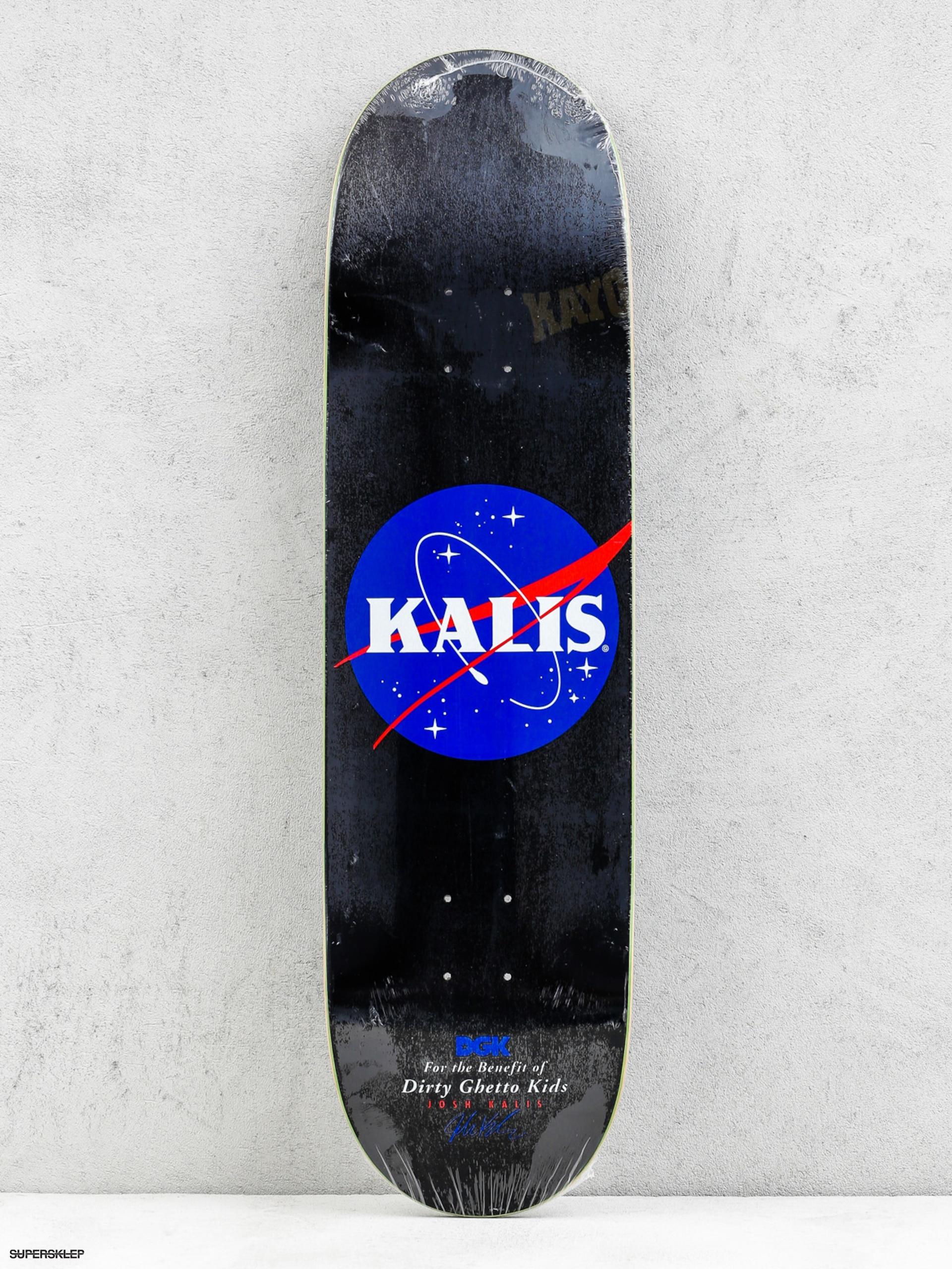 Deck DGK Kalis Case & Desist (black)