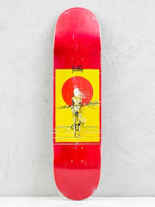 Deck Youth Skateboards Day (red/yellow)