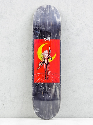 Deck Youth Skateboards Night (black/red)