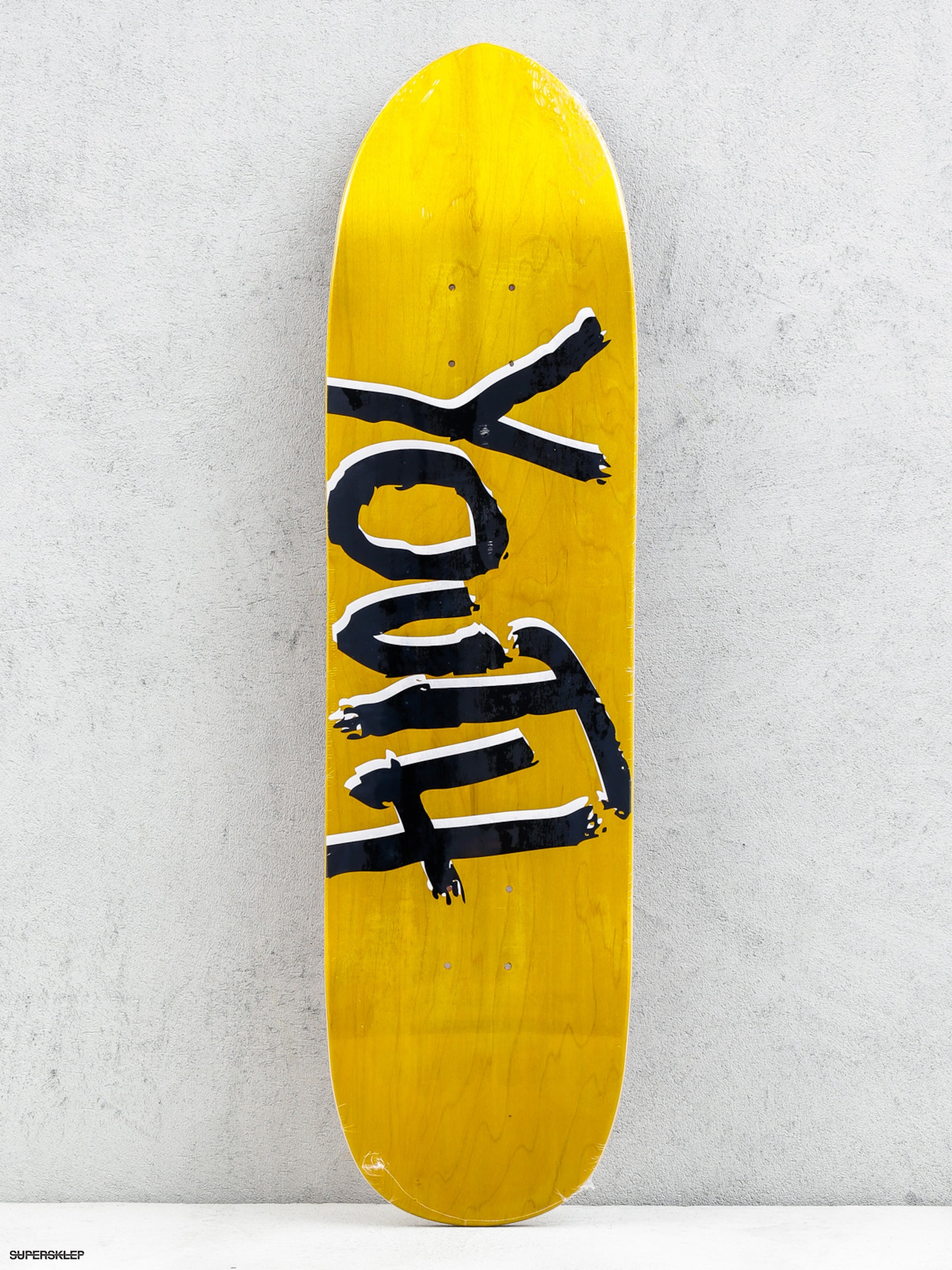 Deck Youth Skateboards Og Logo Poolshape (yellow/black)
