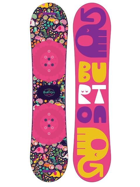 Dziecięca deska snowboardowa Burton Chicklet (multi)