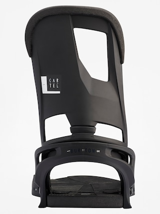 Wiązania snowboardowe Burton Cartel (black matte)