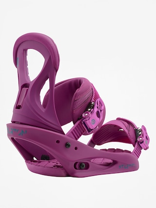Wiązania snowboardowe Burton Stiletto Wmn (hot purple)