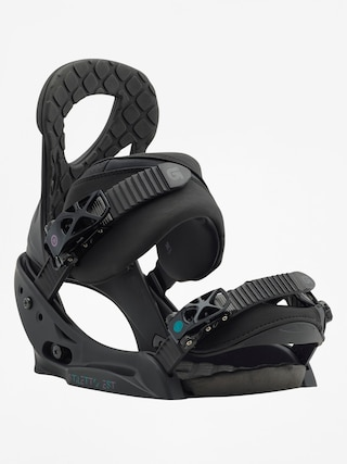 Wiązania snowboardowe Burton Stiletto Est Wmn (black matte)