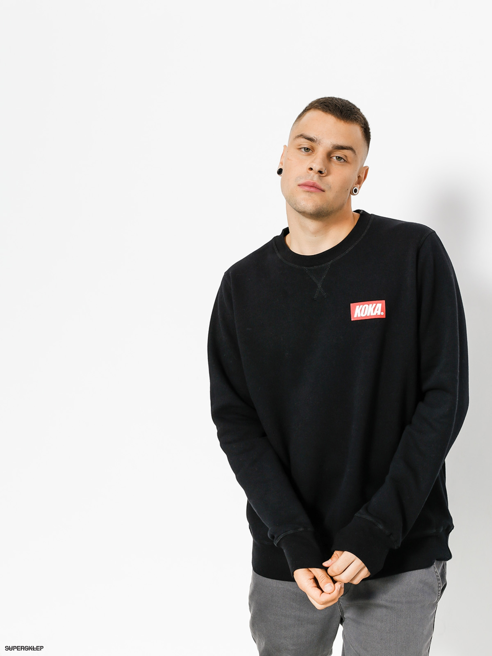 Bluza Koka Small Boxlogo (black)