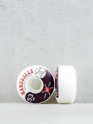 Kółka Mob Skateboards Hardballs (white/maroon)