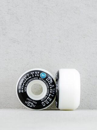 Kółka Mob Skateboards Brooklyn Brawler (white/black/blue)