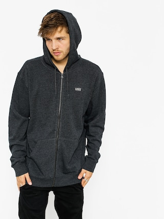 Bluza z kapturem Vans Core Basics ZHD (black heather)
