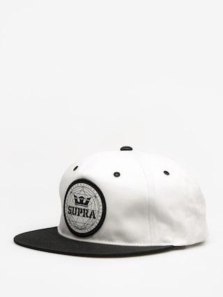 Czapka z daszkiem Supra Geo Patch Slider ZD (black/white)