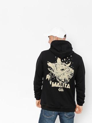 Bluza z kapturem Malita Wolf HD (black)