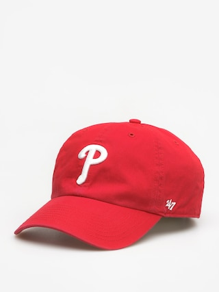 Czapka z daszkiem 47 Brand Philadelphia Phillies ZD (red)