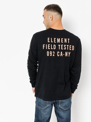 Longsleeve Element Cipher (flint black)