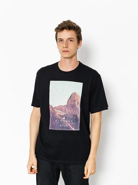 T-shirt Element Sunset (flint black)