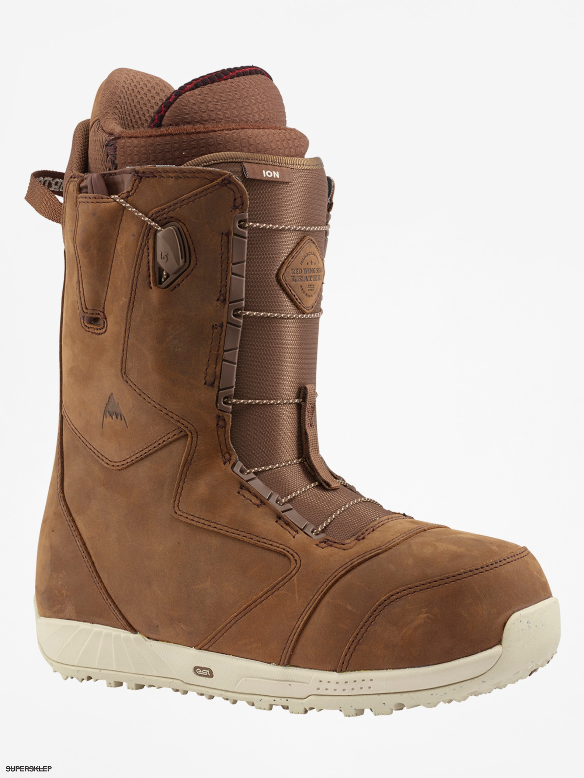 Buty snowboardowe Burton Ion Leather (redwing)