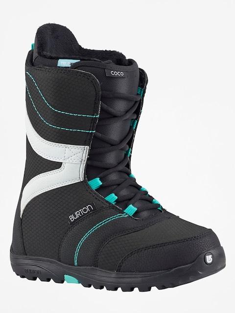Buty snowboardowe Burton Coco Wmn (black/teal)