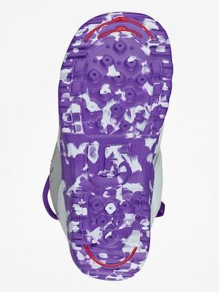 Buty snowboardowe Burton Grom Boa (white/purple)