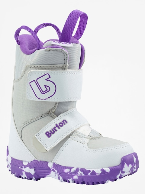 Buty snowboardowe Burton Mini Grom (white/purple)