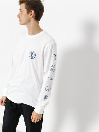 Longsleeve Element Cipher (optic white)