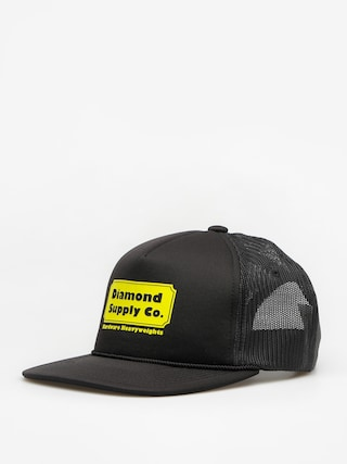 Czapka z daszkiem Diamond Supply Co. Hardware Trucker ZD (black)