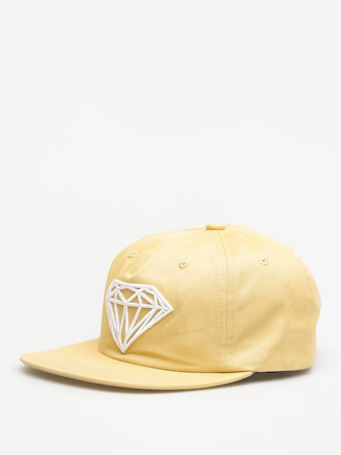 Czapka z daszkiem Diamond Supply Co. Brilliant Snapback ZD (khaki)