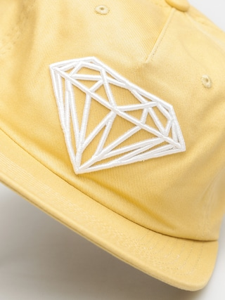 Czapka z daszkiem Diamond Supply Co. Brilliant Snapback ZD (khaki)