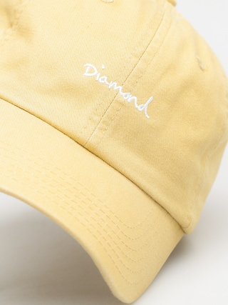 Czapka z daszkiem Diamond Supply Co. Og Script Sport ZD (khaki)