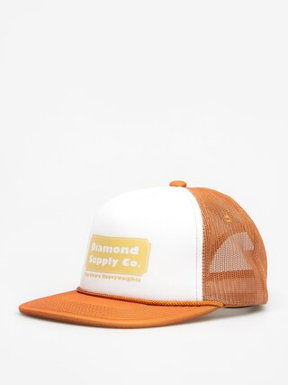 Czapka z daszkiem Diamond Supply Co. Hardware Trucker ZD (brown)
