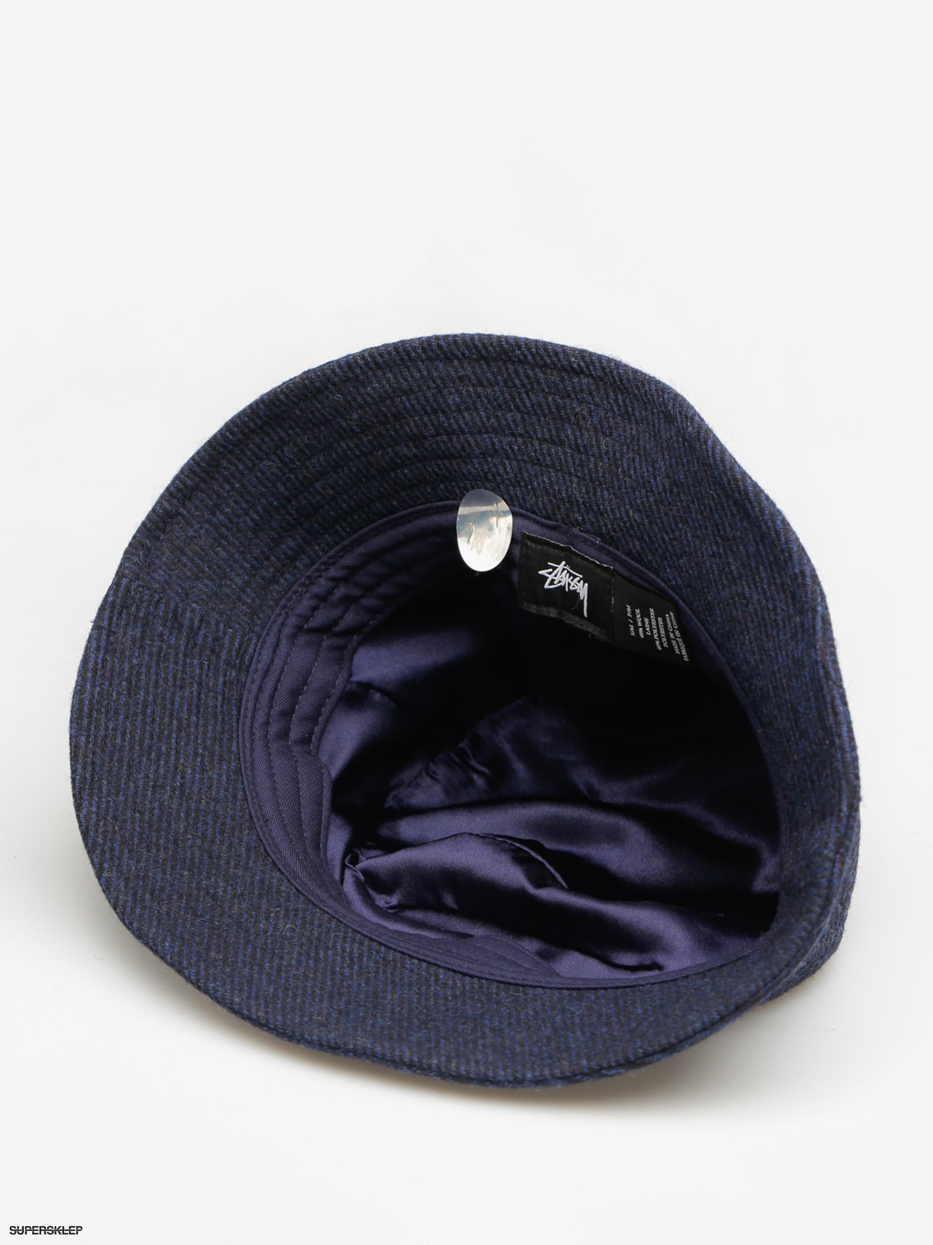11ff73709e1 Kapelusz Stussy Textured Wool Bucket Hat (blue)