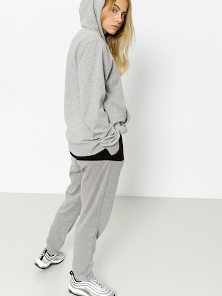Bluza z kapturem Stussy Mayor HD Wmn (grey heather)