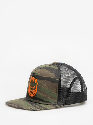 Czapka z daszkiem Spitfire Big Head Trucker ZD (camo/orange)