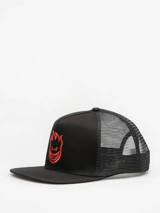 Czapka z daszkiem Spitfire Big Head Trucker ZD (black/red)