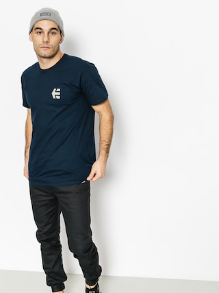 T-shirt Etnies Mini Icon (navy/grey)