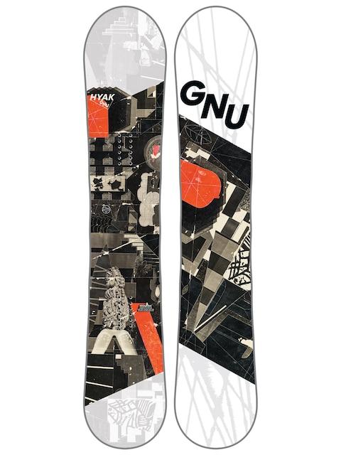 Deska snowboardowa Gnu Hyak Btx (multi)