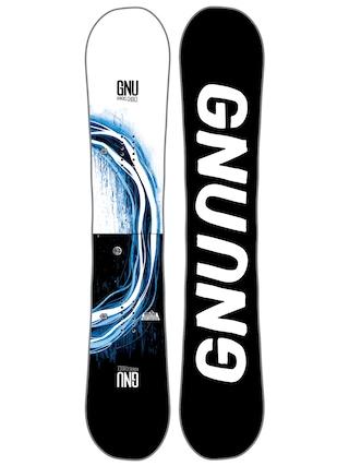 Deska snowboardowa Gnu Rider'S Choice C2X Asym (black)