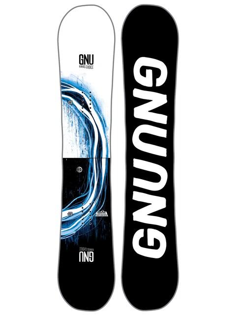 Deska snowboardowa Gnu Rider'S Choice C2X Asym