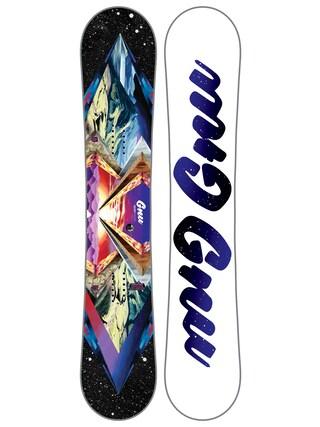 Deska snowboardowa Gnu Velvet Gnuru C2E Asym Wmn (multi)