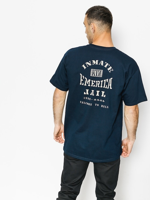 T-shirt Emerica Inmate (navy)