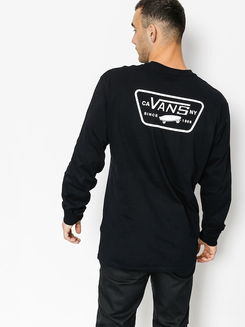 Longsleeve Vans Full Patch Back (black/white)