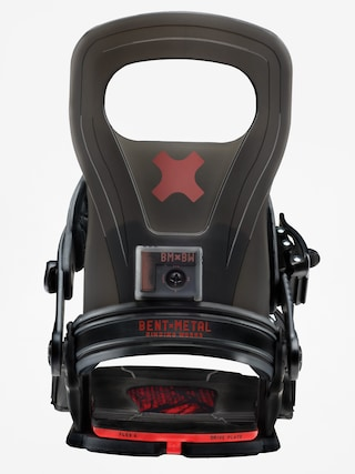 Wiązania snowboardowe Bent Metal Logic (black)