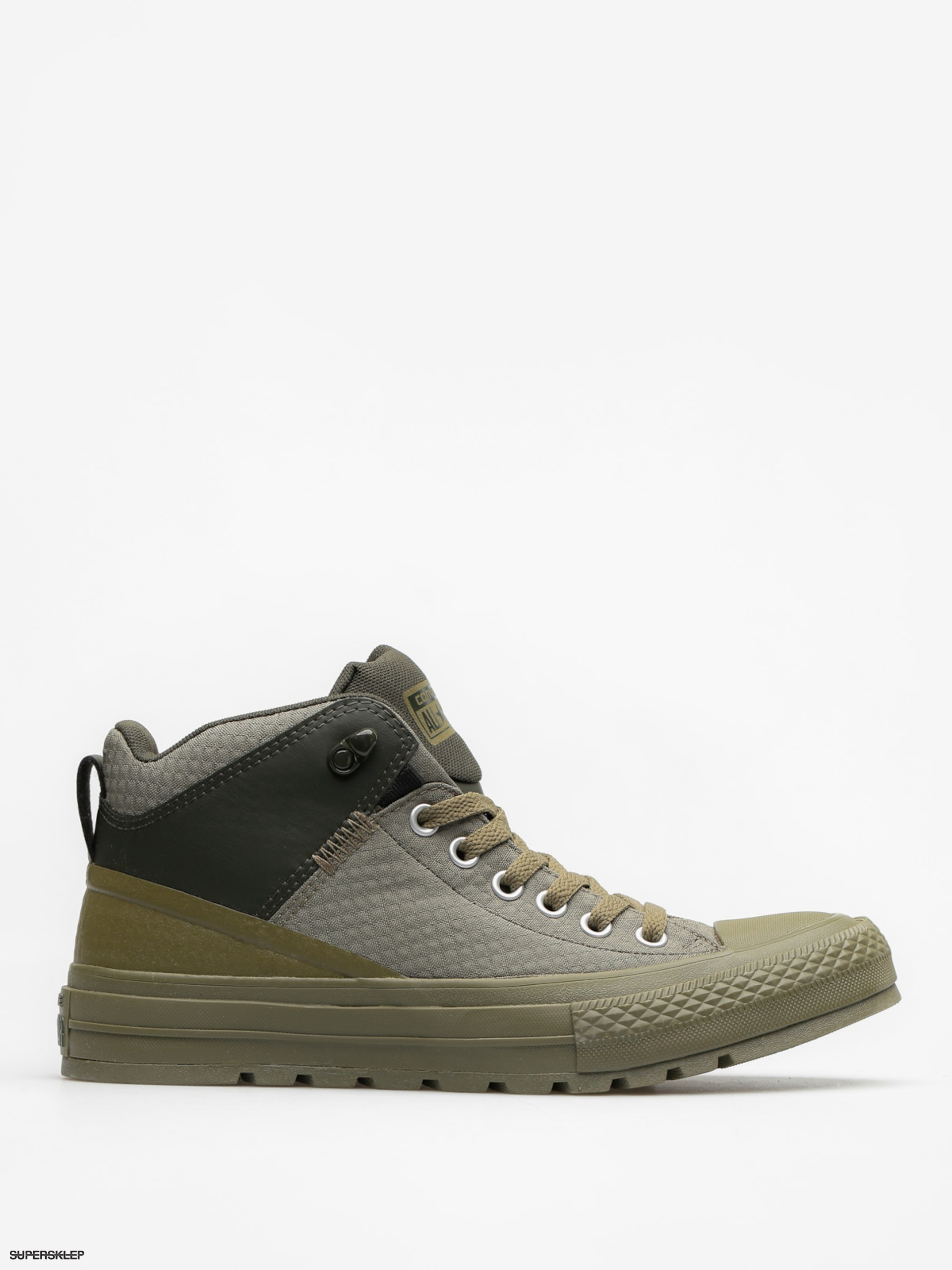 Trampki Converse Chuck Taylor AS Street Boot Hi (medium olive/black/sequoia)
