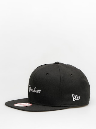 Czapka z daszkiem New Era Wool Mlb Wordmark ZD (black)