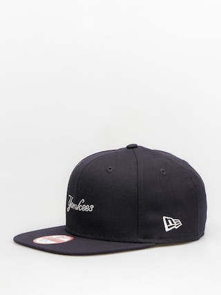Czapka z daszkiem New Era Wool Mlb Wordmark ZD (navy)