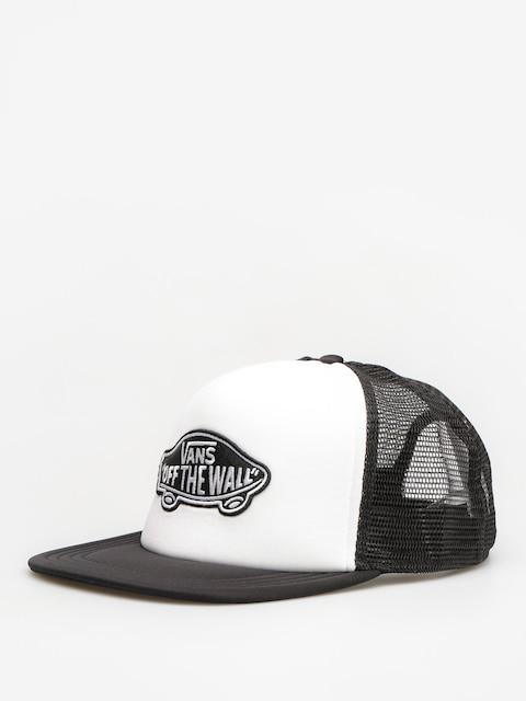 Czapka z daszkiem Vans Classic Patch T (white/black)