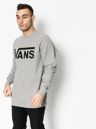 Bluza Vans Classic Crew (concrete heather/black)