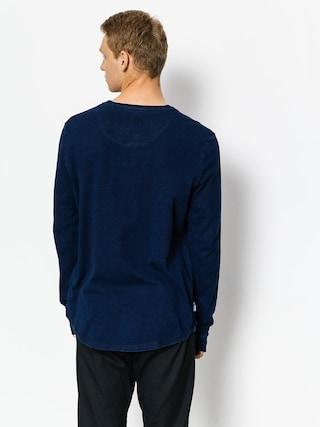 Longsleeve Element Indigo Henley (indigo blue)