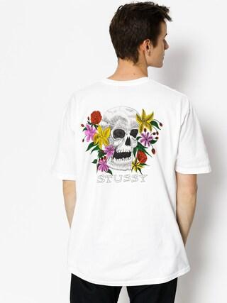 T-shirt Stussy Hippie Skull (white)