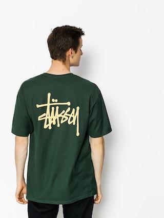 T-shirt Stussy Basic Stussy (dark forest)