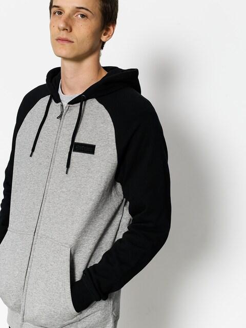 Bluza Etnies Core Icon Zip (black/grey)