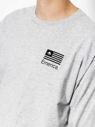 Longsleeve Emerica Pure Flag (grey/heather)