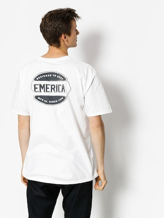 T-shirt Emerica Defy Badge (white)